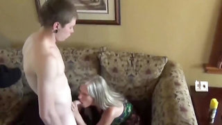 She likes waking me up with blowjob and eating my cum in morning