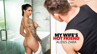 Naughty America - Alexis Zara fucks her trainer and best friend