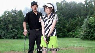 Michiru Tsukino is a very passionate golf fan
