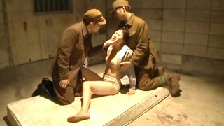 Female Prisoner Humiliated By Soldiers