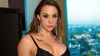 Sex for money with a big-boobed secretary Chanel Preston