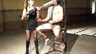 Felony  John Jammen in 4 Rules Of A Dominatrix Dungeon With The Fleshlight Pussy Machine - DivineBitches
