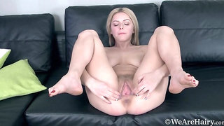 Ayda enjoys yogurt naked and strips with charm