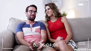 Tara Ashley is sucking cock and spreading her legs wide to get her daily dose of fuck
