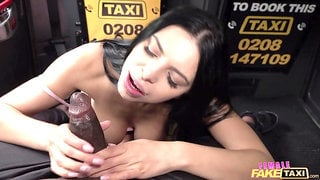 Kira Queen gets her clam jammed in the infamous fake taxi