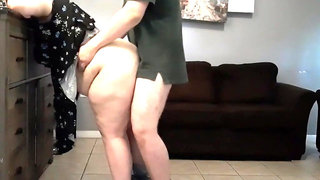 Make me Cum BBW Bent over and Fucked Facial