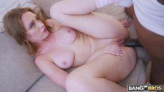 Giant Rod In Her Anus