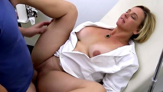 Step Mother & Son Medical Exam - Brianna Beach - Mom comes first