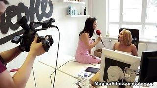 Maria Mia & Jason Steel & Honey Coxx in She Wants It - MagmaFilm