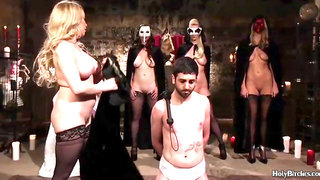 Sissy Guy in a Weird Sex Party