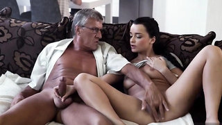 Swedish brunette and old man fingering What would you