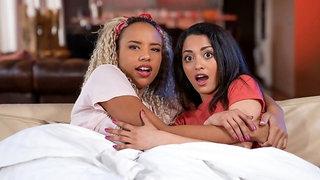 Interracial lesbians movie loving