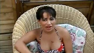 Beautiful milf porn action with deepthroat blowjob