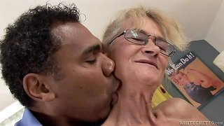 Filthy Granny Swallows A Big Dick  I Was 18 50 Years Ago #09