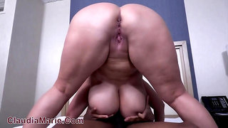 Incredible teacher mom with giant melons Claudia Marie fucks college Basketball Star