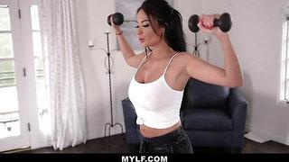Mylf - Big Boobs Milf Fucked By Athletic Stud
