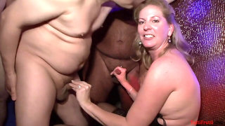 Swinger party with arousing matures