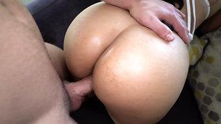 Sexy latina Kira Star has sex and sucks cock