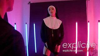 Naughty Nun Molly Saint Rose