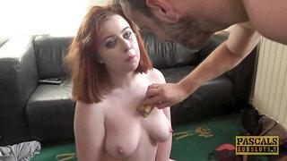 hot redhead MILF Kitty Misfit rough sex