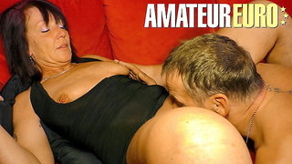 XXXOmas - Sexy German Granny Knows To Please Her Husband