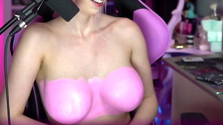 Body painting great boobs Intraventus