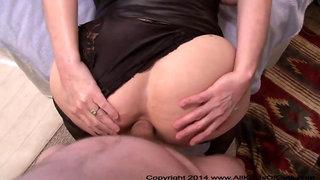 Bubble Butt Granny Got Butt Fucked