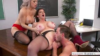 Alyssa Lynn,Sara Jay,Lucas Frost My First Sex Teacher