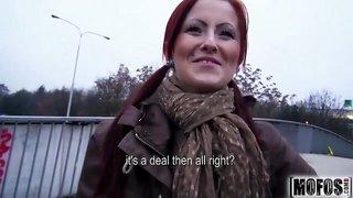 Eager Exhibitionist Beaver video starring Belinda - Mofos