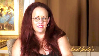 Aunt Judy's - Curvy MILF Laila Tells You All About Herself
