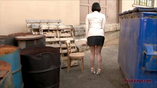ffstockings - Nice prim lady is too horny