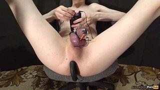 Dick Cage & Anal Plug Mystim, Electro Orgasm
