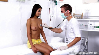 Handsome Doctor Satisfies His Patient - Christy Charming