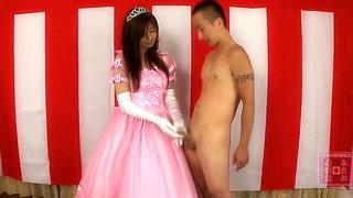 japannese princess satin glove