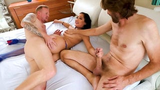 Brazilian milf chloe returns and double-penetrated in rectal threeway