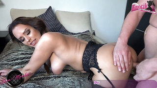 german amateur big tits brunette milf at homemade sextape