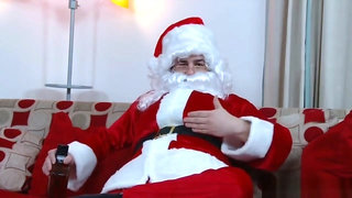 Santa's Hot Helper Isis Love Gets Banged