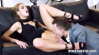 Alexis Crystal celebrates her birthday with anal