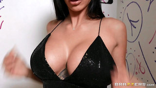 Busty MILF shows younger man the proper hardcore pleasure