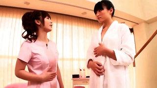 Ravishing Asian lesbian Fuuka Nanasaki enjoys her gal pal