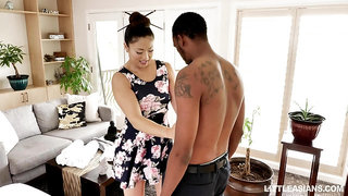 Japanese erotic massage with happy ending by stunning masseuse Nyomi Star