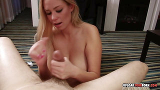From a footjob to some jerking off