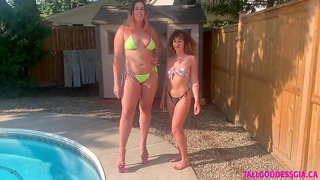 Tall Woman Compared to Average Woman