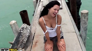 Fantastic Thailand sex vacation: Day 8 - Farewell outdoor sex scene