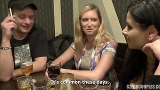Slovak couple changes sex for money
