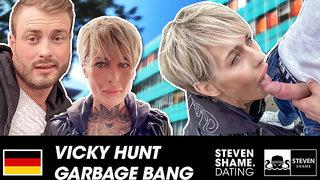 Skinny MILF Vicky Hundt gets a good pussy pounding