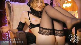 Come Help A Vampire To Cum! Hot Webcam Video!