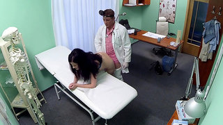 Doctor prescribes dick treatment to Vanessa Shine
