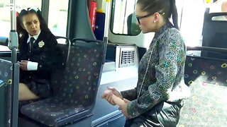 Tainster - Horny Teen Gets Covered In Cum On The Slime Bus