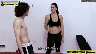 horny mom wrestling with her son http:  bit.ly wrestlingsex - pass 69